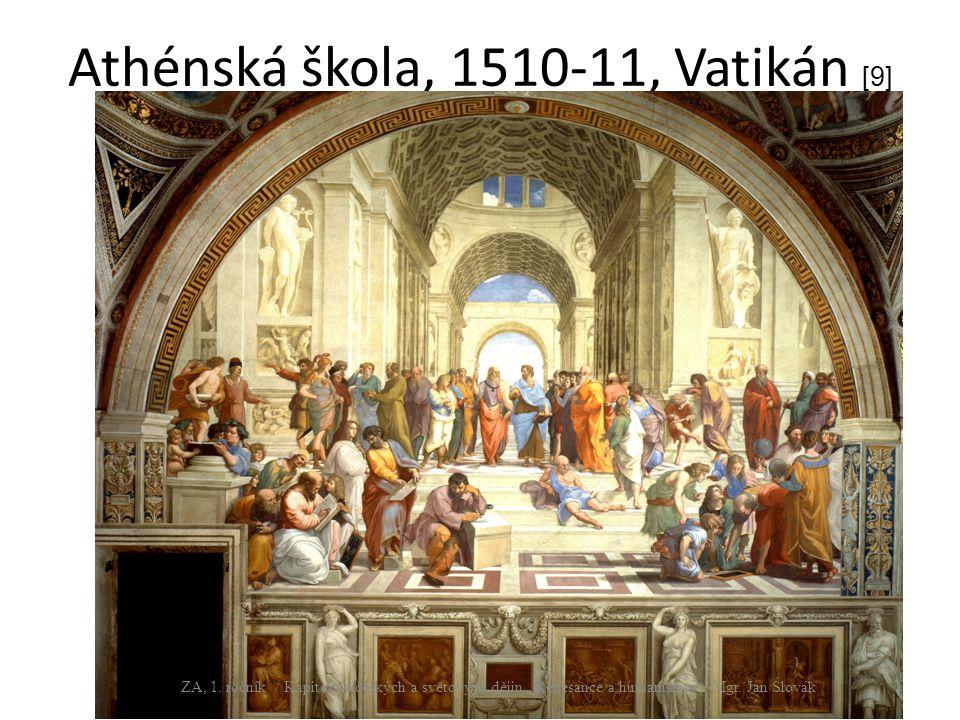 Athénská škola, 1510-11, Vatikán [9]